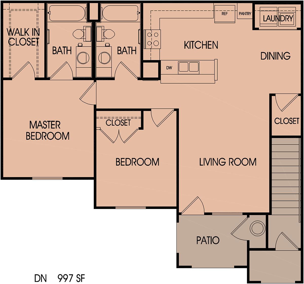 Floor Plans – Cricket Hollow Apartments on